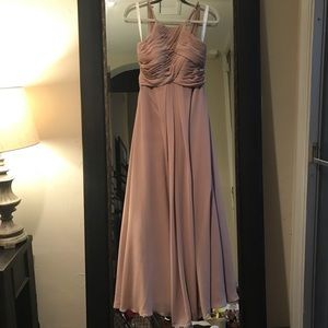 """AZAZIE """"Ginger"""" Bridesmaid Dress-Taupe Size A2"""